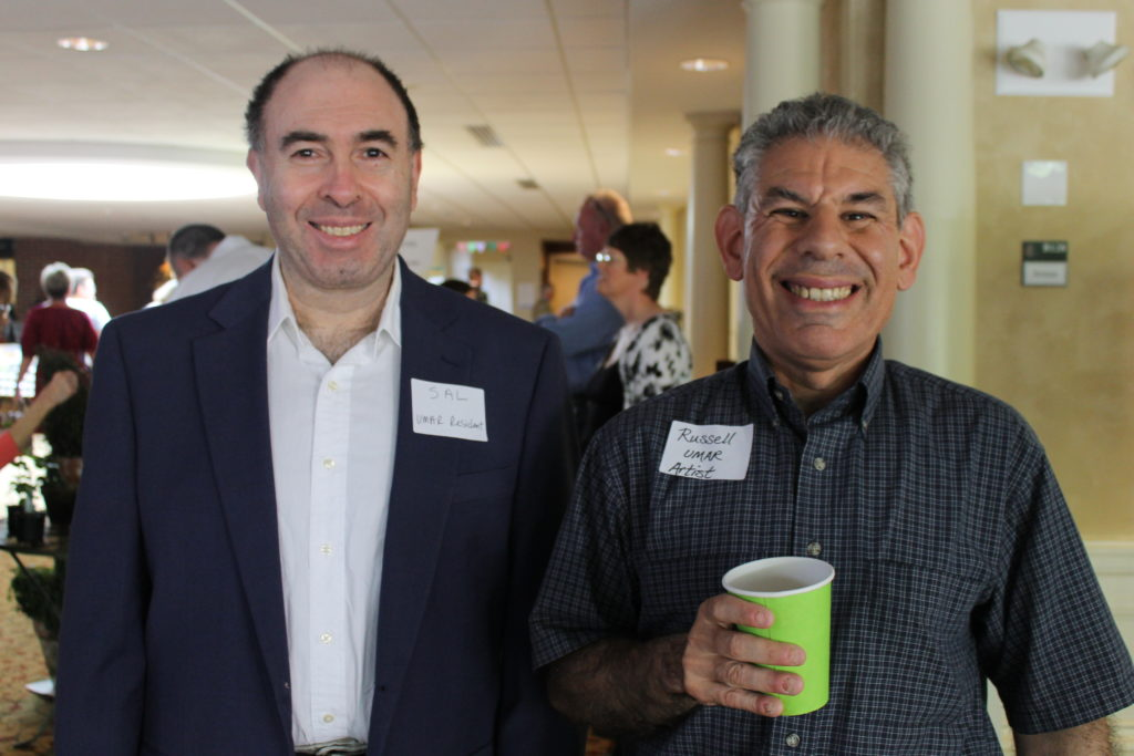 Sal and Russell were all smiles at the 22nd Annual Luncheon