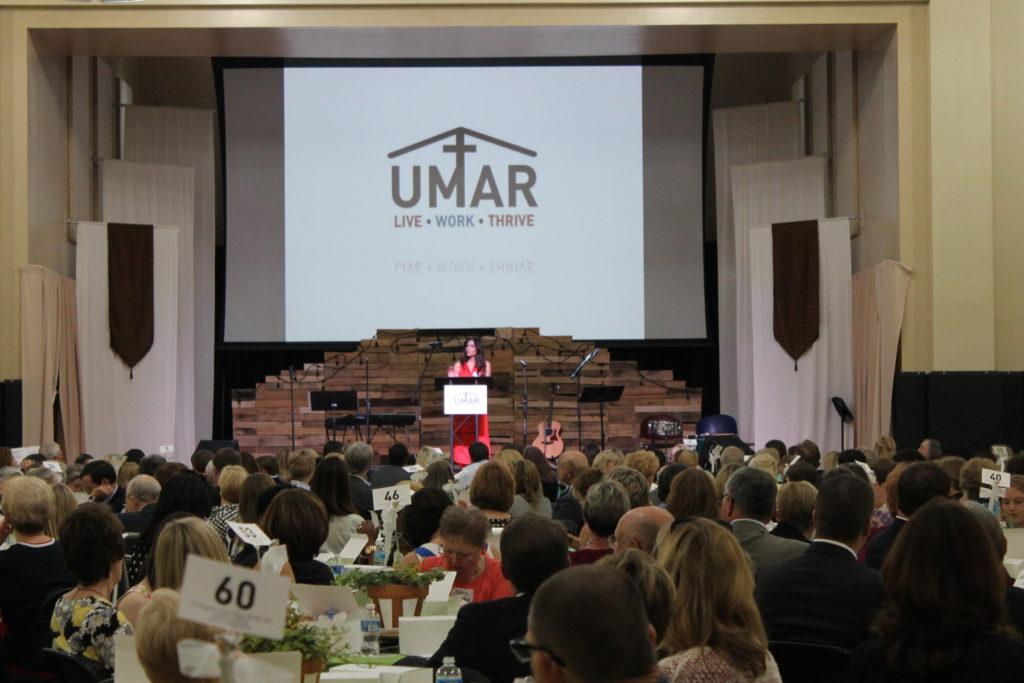 Keynote Speaker at Friends of UMAR Luncheon, Alex Cruz